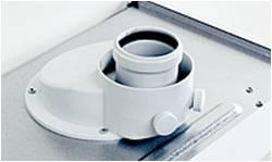 Koncentryczne wyjście spalinowo-powietrzne gazowego kotła kondensacyjnego